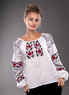 Жіноча сорочка з волинським узором  Ukrainian embroidery