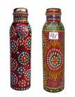 Water Container Drink Ware Set Ayurveda Health set Thermoses Copper Water Bottle