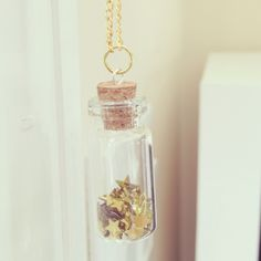 DIY good luck charm, necklace, or key chain.