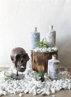 4 Styles creativeco-op Creative Co-op 4-1//4H Ceramic Candle Holder