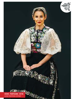 Očová, Podpoľanie, Slovakia Folk Costume, Costumes, Vietnam Costume, Ukraine, Traditional Outfits, Costume Design, Kimono Top, Womens Fashion, Kleding