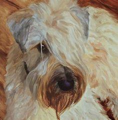 "Daily Paintworks - ""Buddy "" - Original Fine Art for Sale - © Philla Barkhorn"