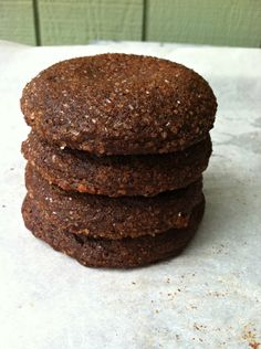 Gluten-free Gingery Soft Molasses Cookies from Gluten Free Girl