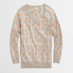 shopstyle.com: J.Crew Factory Factory polka-dot pullover