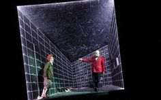 World Stage Design: best exhibits in pictures - Telegraph Hildegard Bechtler (Germany) is exhibiting set design for The Damnation Of Faust (English National Opera) Picture: Tristram Kenton Set Design Theatre, Stage Design, Source Of Inspiration, Design Inspiration, Drama Stage, Drama Drama, Scenography Theatre, Fantasy Setting, Stage Set