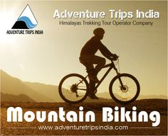 #Adventure_Trips_India #Himalayas_Trekking #Mountain_Biking_in_Himalaya This biking trip is great introduction for amateur to professional with many long downhill rides to steep uphill climbs. We will see one the most beautiful views of Himalayas and remote mountain villages.  Read more: http://adventuretripsindia.com/mtb/mountain-biking-in-garhwal-uttarakhand.html