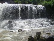 De una hermosa cascada de Venezuela, ubicada en el Estado Bolívar