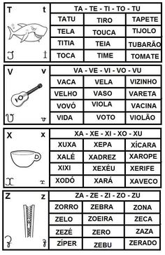 Build Your Brazilian Portuguese Vocabulary Spanish Class, Spanish Lessons, Teaching Spanish, Learn Brazilian Portuguese, Portuguese Lessons, Portuguese Language, Learn A New Language, Letter Recognition, First Grade