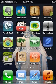 Genealogy apps useful for discovering your Family History. #keepinggrandmaalive #genealogy #familyhistory