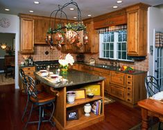 traditional-kitchen French Country Kitchen Remodel country kitchen recipes country kitchen islands ideas country kitchen islands pinterest