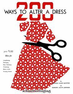 diy vintage clothing ideas | ... Vintage Sewing Guide McIntire Retro Atomic DIY 40s Swing Era Guide