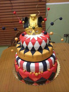 Harley quinn Cake!!!