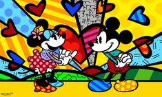 Romero Britto-Mickey's New Day