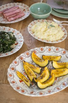Thanksgiving Menu - Acorn Squash