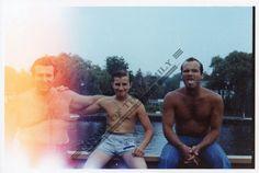 Roy DeMeo, son Albert and Chris Rosenberg. Courtesy of Dov Gross