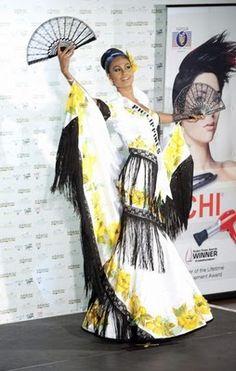 MISS UNIVERSE 2010 IN NATIONAL COSTUMES MISS PHILIPPINES - Maria Venus Bayonito Raj
