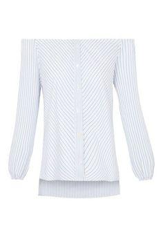 LE LIS BLANC - Camisa ombro a ombro Julia - OQVestir