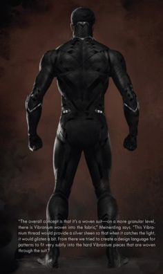 Details On Black Panther S Costume In Civil War With Concept Art And Action Packed Audi Promo