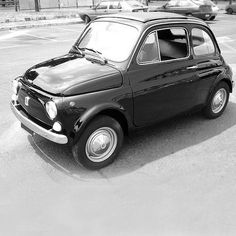 """Fiat """"Nuova 500"""" by Dante Giacosa, 1957"""