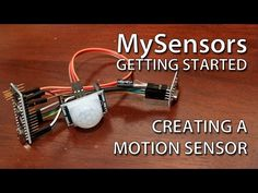 Create your own wireless motion sensor with Arduino - YouTube