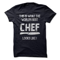 THE WORLDS BEST CHEF T-Shirt Hoodie Sweatshirts aeo. Check price ==► http://graphictshirts.xyz/?p=71862