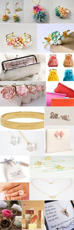 Praise Wedding » Wedding Inspiration and Planning » 40 Lovely Bridesmaid Gifts