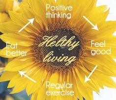 Healthy is spelled wrong.. but still a great message!     Living a healthy lifestyle is more than just eating healthy, more than just exercising regularly, more than just thinking positively, more than just feeling good…