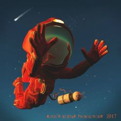 ArtStation - Reach for the stars, John Van den Brempt