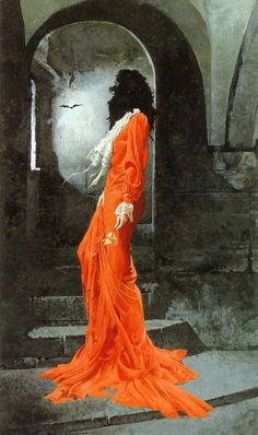 'Mina' from Marie Kiraly's novel of the same name, art by Robert McGinnis.