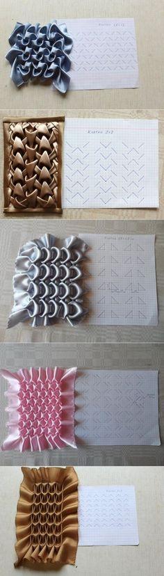 Embroidery Fabric Manipulation Smocking Tutorial 26 Ideas For 2019 Smocking Tutorial, Smocking Patterns, Embroidery Stitches Tutorial, Dress Sewing Patterns, Hand Embroidery Designs, Embroidery Patterns, Skirt Patterns, Coat Patterns, Blouse Patterns