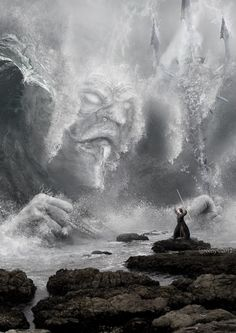 Summoning Poseidon! Digital Artworks by Igreeny }-> repinned by www.BlickeDeeler.de
