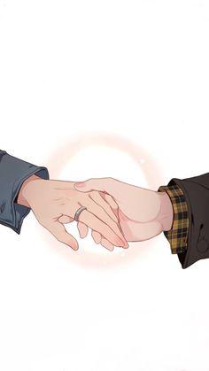 Webtoon: Our Omega Leadernim Cute Couple Drawings, Cute Couple Cartoon, Cute Couple Art, Cute Love Cartoons, Cute Couple Wallpaper, Cute Anime Wallpaper, Cute Cartoon Wallpapers, Anime Couples Manga, Cute Anime Couples