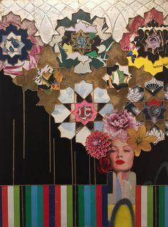 Malibu Barbie, Affordable Art Fair, Nyc Subway, Old Wall, High Art, Mixed Media Canvas, Popular Culture, Original Artwork, Graffiti