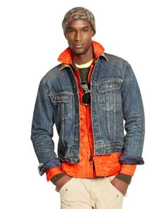 Denim Mason Trucker Jacket - Polo Ralph Lauren Cloth - RalphLauren.com