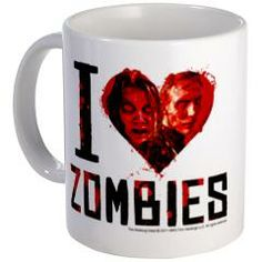 I Heart Zombies Mug> The Walking Dead Drinkware> The Walking Dead T-Shirts from Gold Label