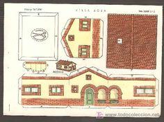 Casas recortables de papel para imprimir - Imagui