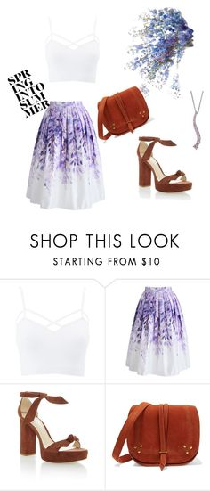"""""""Untitled #3"""" by adelisaaljic ❤ liked on Polyvore featuring Charlotte Russe, Chicwish, Alexandre Birman, Jérôme Dreyfuss and plus size clothing"""