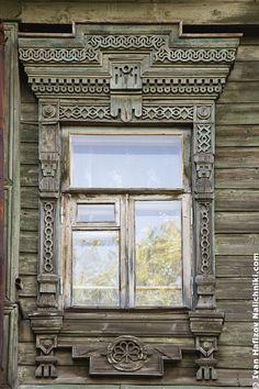 Невероятный наличник из Костромы