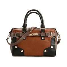 Melie Bianco Bade Color Block Satchel