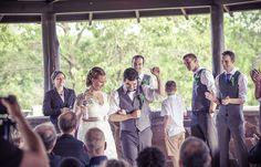 Groom celebrating! | Vintage wedding photography | www.newvintagemedia.ca