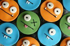 uglydoll cupcakes :) #cupcakes #birthday #uglydoll