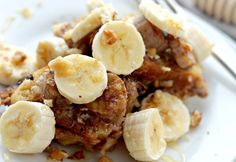 23. Creamy Banana French Toast #crockpot #breakfast #recipes https://greatist.com/eat/healthy-crock-pot-recipes-for-breakfast