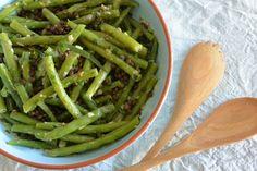 Heerlijke sperziebonen salade Recipe Images, Vinaigrette, Asparagus, Green Beans, Vegetables, Recipes, Food, Salads, Seeds