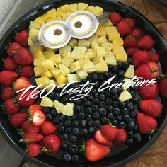 Minions Fruit Tray