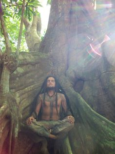 The Hippie Commune.... I could soo live in one!    I've actually  become a genuine tree hugger