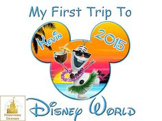 Olaf Frozen I'm Going to Disney World Family Vacation by Pennyring
