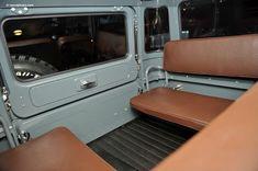 interior of landcruiser...ahhh memories