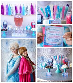 Disney's Frozen themed birthday party via Kara's Party Ideas KarasPartyIdeas.com Cake, favors, cupcakes, decor, printables, invitation, desserts, and more! #disneysfrozen #frozen #frozenparty (2)