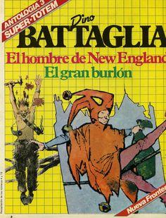 Libro Comic Super-Totem. Antología 3. Dino Battaglia
