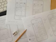 Inspiring Wireframe Sketches